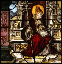 Fig. 15. St Cornelius from the cloister of the Abbey of Mariawald, 1522-26 © Victoria & Albert Museum London.