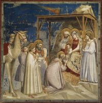 Fig. 2: Adoration of the Magi, Scrovegni Chapel, Padua, by Giotto.