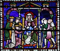 Fig. 4: The Adoration of the Magi, Canterbury Cathedral, courtesy Dean and Chapter, Canterbury Cathedral.