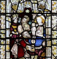 Fig. 6: The Adoration of the Magi, East Harling church, Norfolk, England