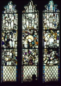 Fig. 4 All Saints North Street, window s6 (before conservation).